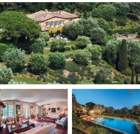 Villa avec piscine chateauneuf de garsse